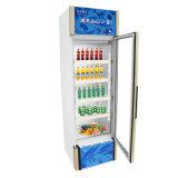 Congelador vertical de enfriamiento de la sola puerta de la apertura de la Tres-Cara al por mayor