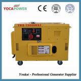 De Diesel 12.5kVA Draagbare Stille Generator in drie stadia van de Generator 10kw