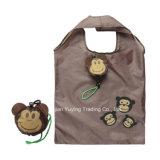 柔らかい210dポリエステル女性(YY210SB009)のためのFoldable戦闘状況表示板のショッピング・バッグ