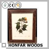 Het bruine Frame van de Foto van de Rechthoek Stevige Houten voor het Decor van het Huis