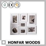 Multi Pintura de madera del marco de la foto para la decoración casera