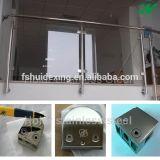 Струбцина стекла ванной комнаты нержавеющей стали