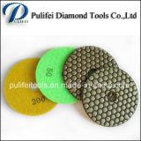 Granit de polissage de meulage sec de garniture de polonais de diamant