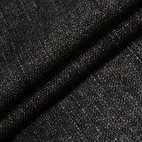 Tessuto nero 100% del denim del cotone per i jeans