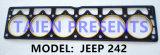 Junta de culata para el jeep 242