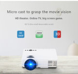 Projetor poderoso da marca LCD Projetor de Android Home Theater para Village Ciname