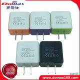 Handy 2 Doppel-USB-Adapter-Anschluss-Stecker-Arbeitsweg-Aufladeeinheit
