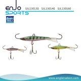 Le pêcheur choisissent l'appât bâtissant de coulage de vairon de 5cm avec Vmc les crochets triples (SJL130150)