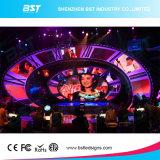 Pantalla de visualización de alquiler ligera de LED de HD P3.91mm al aire libre para el concierto de la música de la etapa