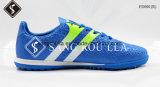 Chaussures respirables du football et chaussures du football d'intérieur avec le caoutchouc