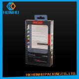 Cosmético plástico da impressão da caixa do animal de estimação que empacota em quantidades pequenas