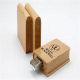 Disco instantâneo de madeira maioria barato do USB do presente da promoção