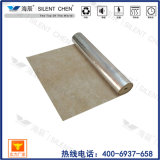 Underlay de borracha da natureza da fonte da fábrica com folha de alumínio (Rub30-L)