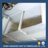 Papel de fibra de cerámica de la alta calidad cubierto con el papel de aluminio