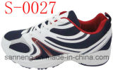 Chaussures de sports avec l'injection Outsole (S-0027) de PVC