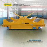 Elektrischer Fabrik-Transport mit Schienen-flachem Träger für Industrie