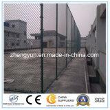 Frontière de sécurité de maillon de chaîne de stade de PVC