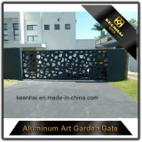 별장을%s 알루미늄 앞뜰 문