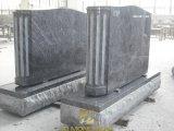 Grafstenen van het Graniet van de Grafstenen van het Ontwerp van de grafsteen de Ernstige voor Begraafplaats
