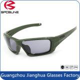 Óculos de proteção táticos militares da prova de fragmento, óculos de sol protetores Eyewear para o tiro