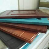 De houten Plaat van het Roestvrij staal van de Kleur van pvc van de Korrel voor Binnenhuisarchitectuur