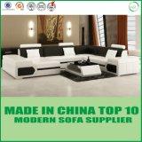 Sofá moderno Home do couro da sala de visitas da mobília