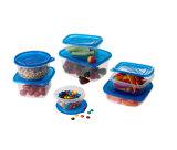 Conteneur rond en plastique à emporter pour aliments à micro-alimentation 31 oz
