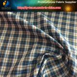 Merci rapide, assegno del poliestere/tessuto del plaid, prodotto intessuto (X028-30)