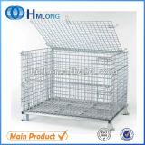 Contenitore pieghevole resistente del pallet della rete metallica