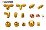 Réfrigération Raccord en laiton, noix / sécurité / Raccord d'accès / Connecteur / Union / Connecteur / Elbow / Tee /