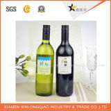 Collant estampé par modèle personnalisé imperméable à l'eau de bouteille de vin d'impression d'étiquette