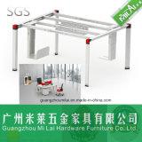 マネージャ表(ML-02-DZB)のための最もよい品質のオフィス用家具の鋼鉄机のフィート