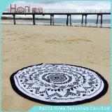 新しいデザイン安い高品質の円形のビーチタオル