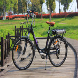 Bateria de rack traseira 26 '' 250W City Electric Bicycle for Lady