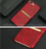Caja de cuero del teléfono móvil del empalme para el iPhone 7/7plus