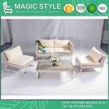 Sofá de Kd com o coxim pelo sofá ao ar livre de Vime Weaving ajustado (estilo mágico)