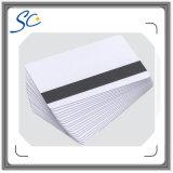 Tarjetas en blanco baratas del golpe fuerte para la impresión termal