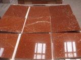 Lastre di marmo rosse delle mattonelle di marmo di Rosso Alicante per la pavimentazione/le mattonelle/controsoffitti della parete