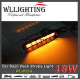 Luz de advertência da plataforma da viseira do traço do diodo emissor de luz do carro do caminhão
