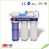 Purificador da água do RO do agregado familiar com os 5 filtros dos estágios