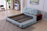 China Foshan Soem-Schlafzimmer-Möbel-moderner Entwurfs-weiches Gewebe-Bett