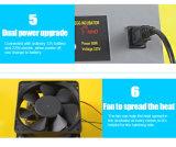 Incubateurs automatiques approuvés d'oeufs de Digitals de la CE pour l'oeuf