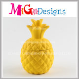 Newly Ceramic Pineapple Birthday Gifts Coin Box para crianças