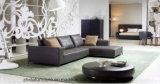 Mobília de Chesterfield do sofá do couro genuíno