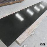 Strato di superficie solido del poliestere nero puro del materiale da costruzione