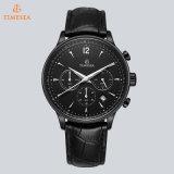 Ursprüngliche Marken-Uhr-Mann-echtes Leder-Band-Form-Quarz-Luxuxarmbanduhr 72747