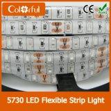 Tira impermeable de IP65 SMD5730 DC12V LED