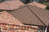 Azulejo de azotea revestido de la hoja del material para techos del metal de la arena/del metal de la piedra