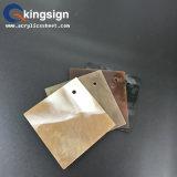 Preço acrílico de mármore contínuo de grande resistência da folha