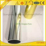6063 6463 perfiles de aluminio Polished brillantes del cuarto de baño de las protuberancias del espejo